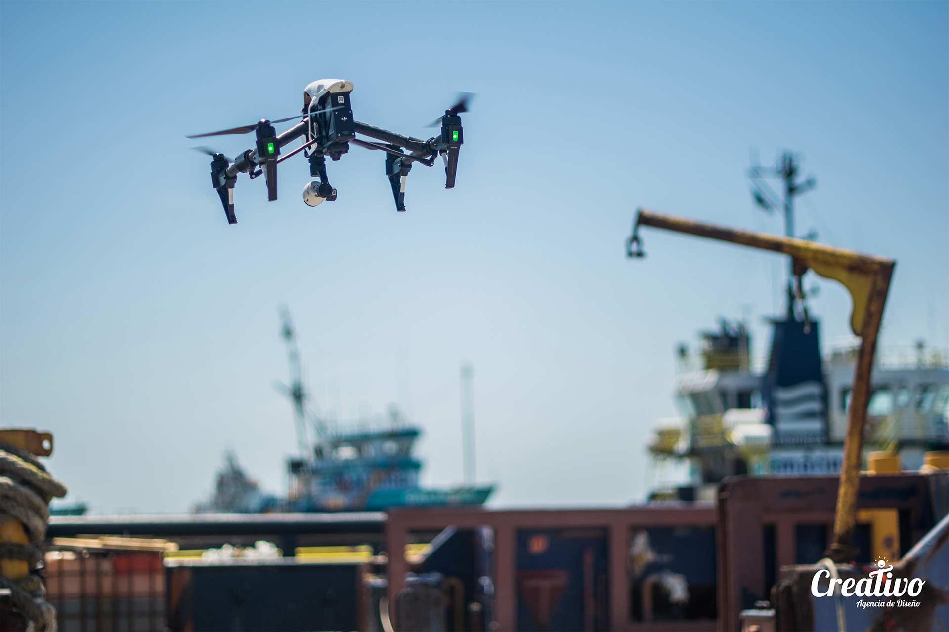 Video con Drone Calidad 4K