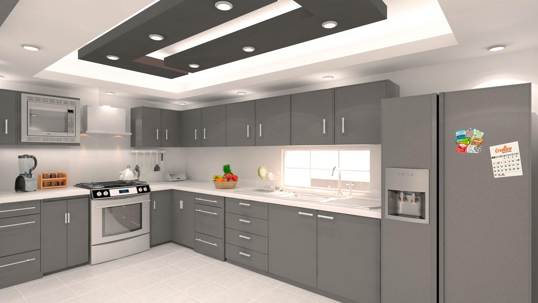 Cocina Vista Final 3D